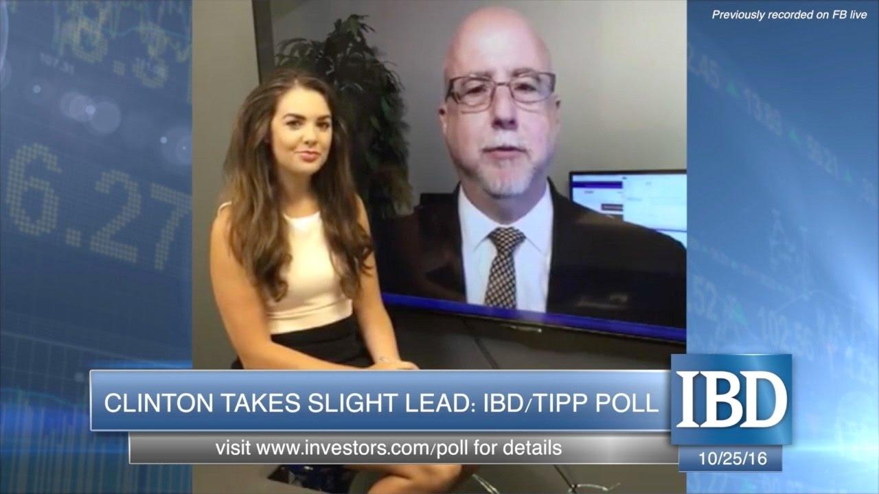 IBD/TIPP Poll: Clinton Takes Slight Lead