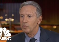 Howard Schultz: We Gave Almost 50% Of Our Tax Benefit To Our Workers | CNBC