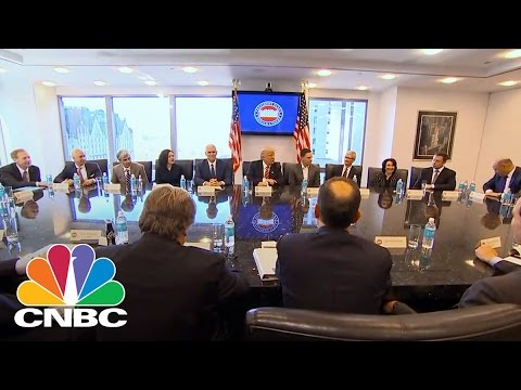 Tech Titans Jeff Bezos, Sheryl Sandberg Meet With Donald Trump Transition Team | Power Lunch | CNBC