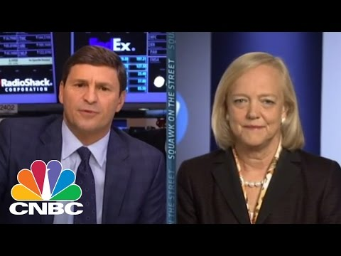 HP CEO Meg Whitman Discusses Split | CNBC
