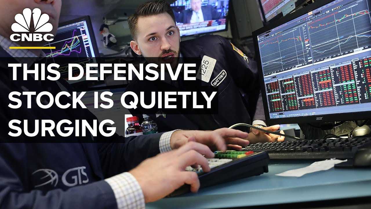 An Under-The-Radar Defensive Stock Is Quietly Surging | Trading Nation