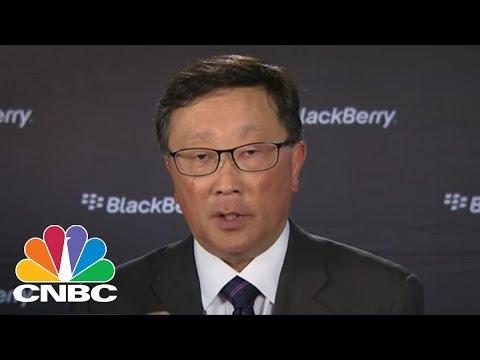 BlackBerry CEO: Bullish On Hardware | CNBC