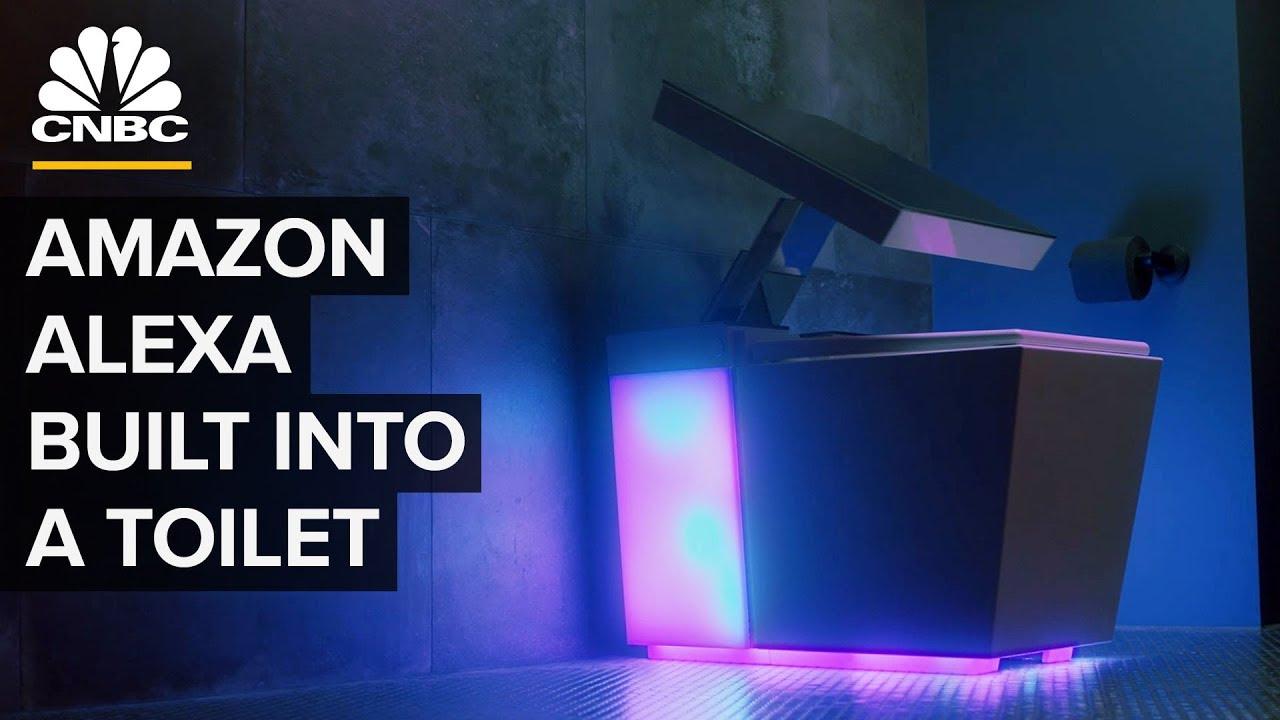 Kohler's $7,000 Smart Toilet Has An Amazon Alexa Speaker