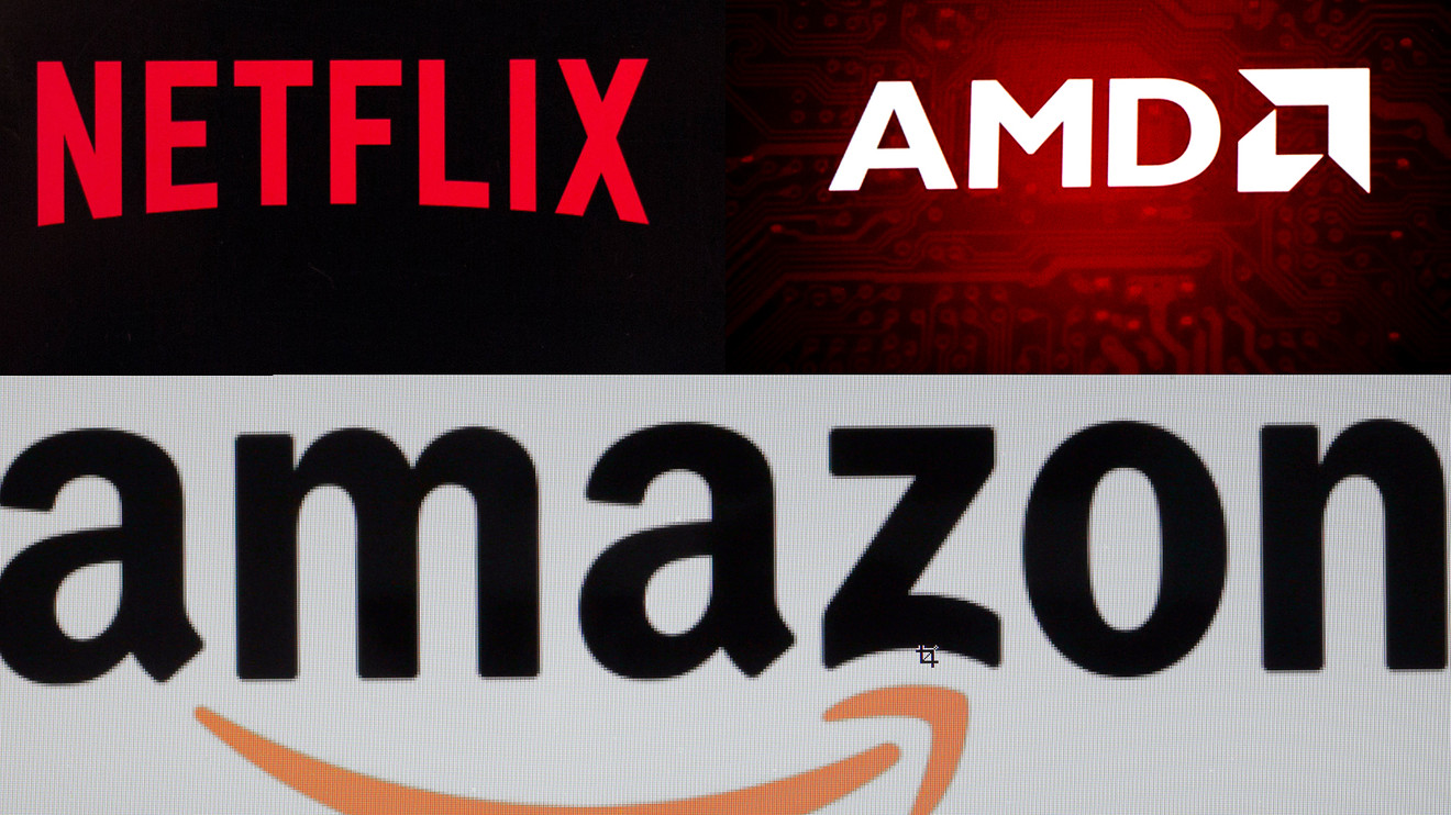Money flows show Netflix, AMD and Amazon shares may rocket on good news