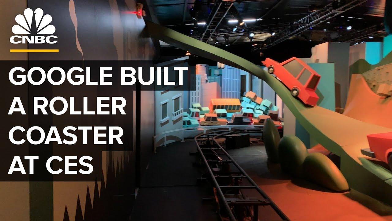 Inside Google's CES Roller Coaster