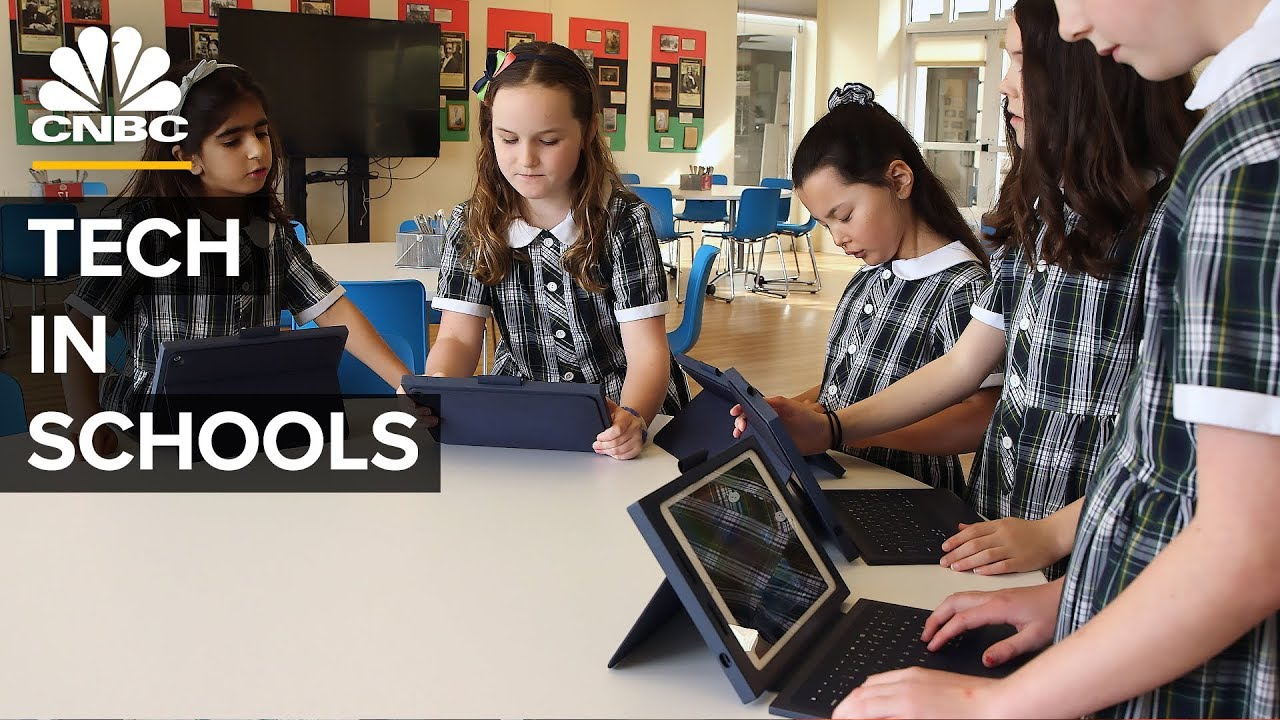 Why Google, Microsoft, and Apple Are Fighting For Classrooms