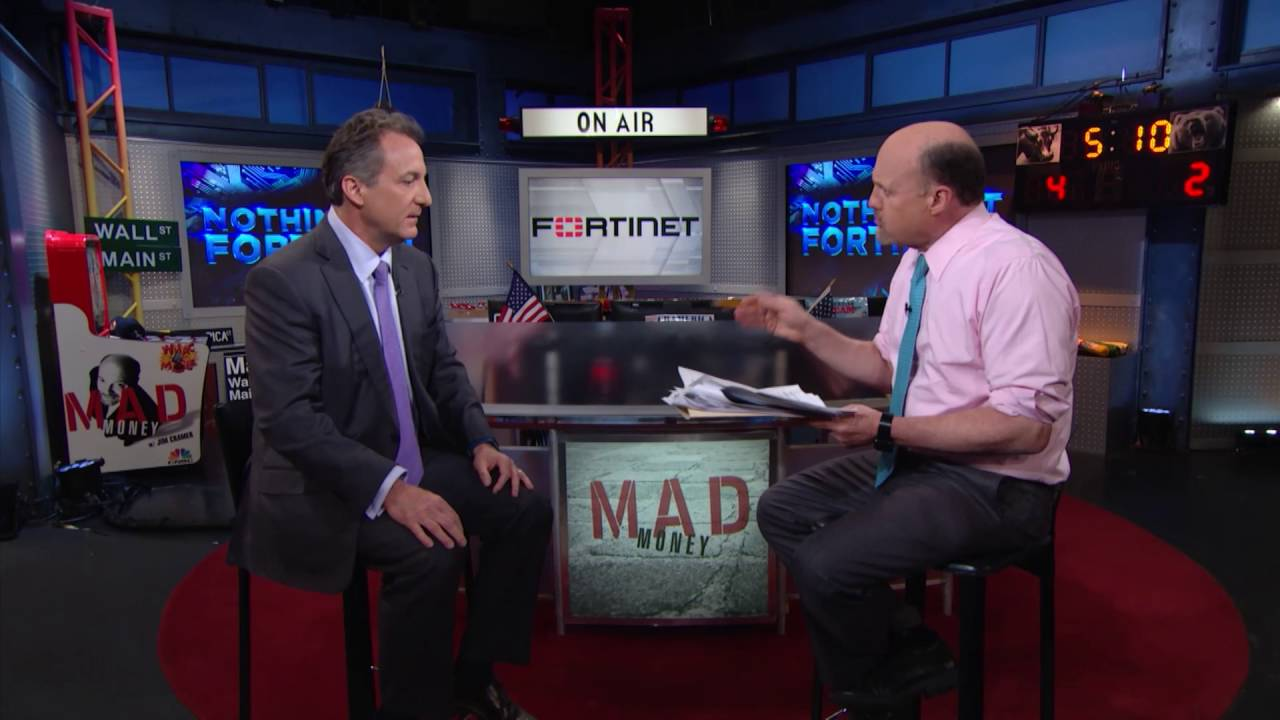 Fortinet CEO: Partnership Protection | Mad Money | CNBC