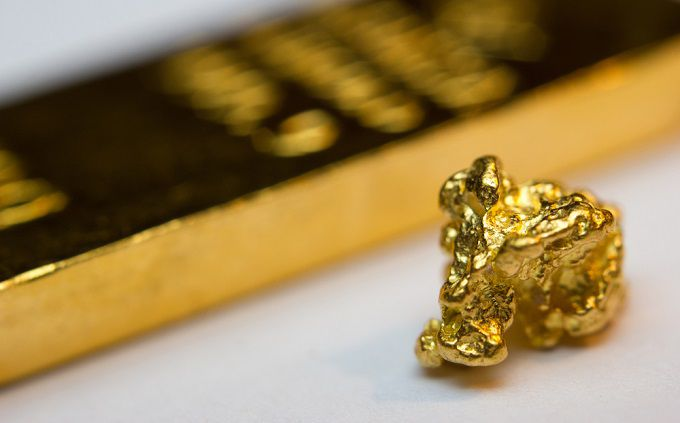 Gold Retreats and Stocks Diverge