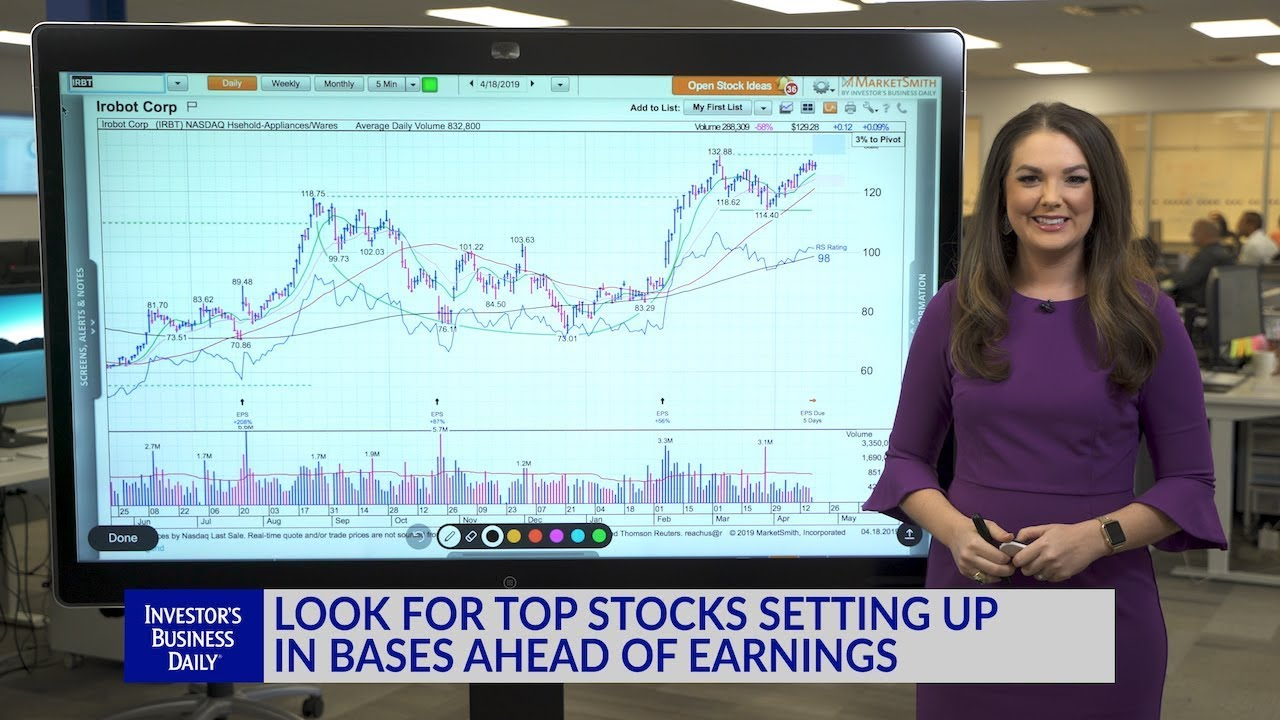 Technical Analysis: Look For Top Stocks Setting Up In Bases Ahead Of Earnings