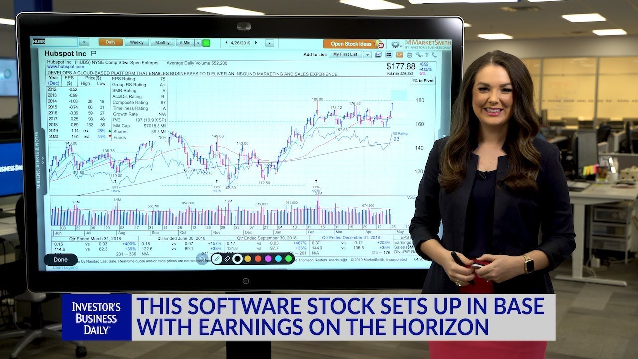 Technical Analysis: This Software Stock Sets Up In Base With Earnings On The Horizon
