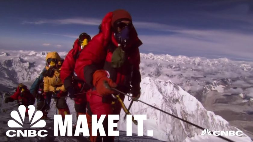 Climbing Everest In The Dark | How I Made It | CNBC Make It.