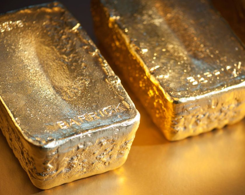 The Gold ETF Held Key Level, Commodities Near 'Golden Cross' As Dollar Peaks