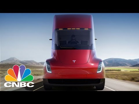 Tesla Just Threw In A Major Surprise At The Semi Truck Unveiling: A Revamped Roadster   CNBC