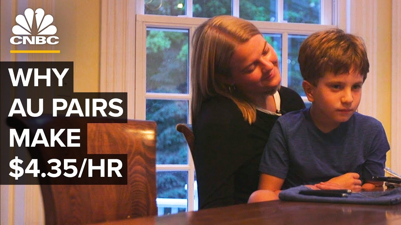 Why Au Pairs Are Paid Only $4.35/hour